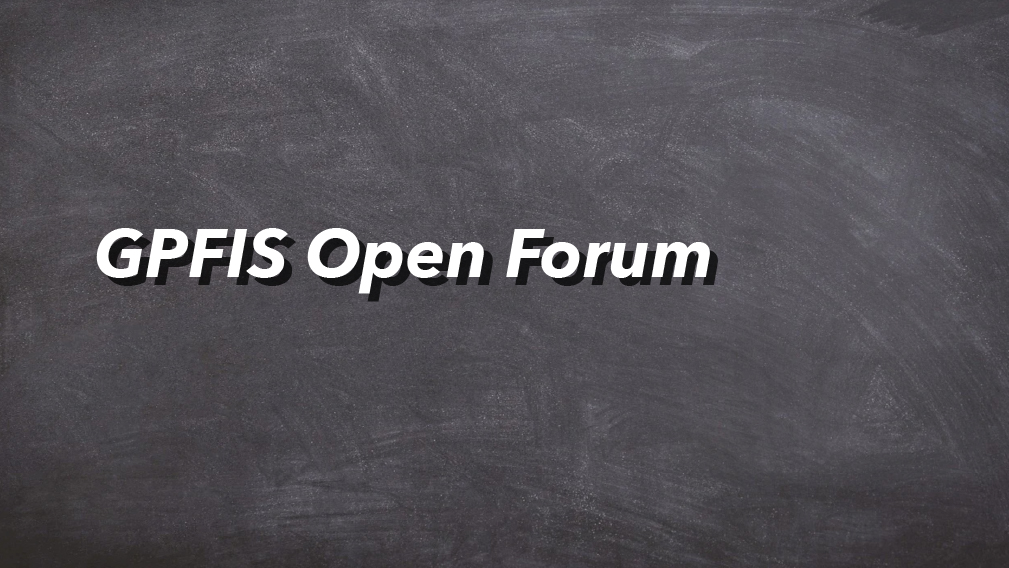 06-12-2020 GPFIS Open Forum