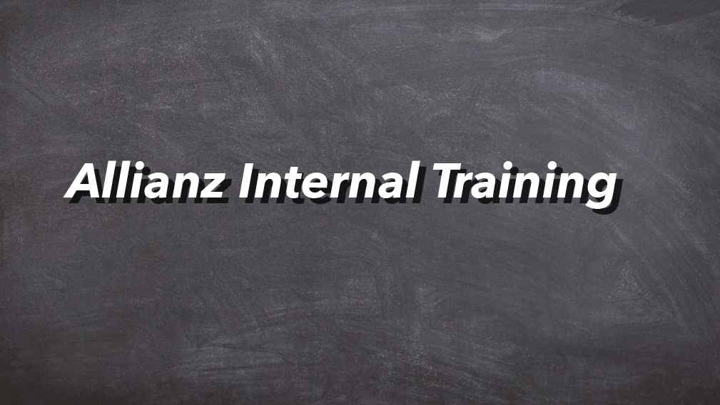 07-10-2020 Allianz Internal Training